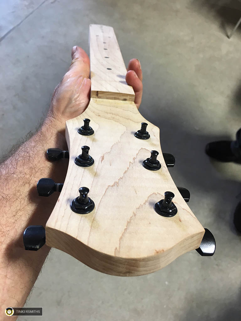 Custom Guitar Necks